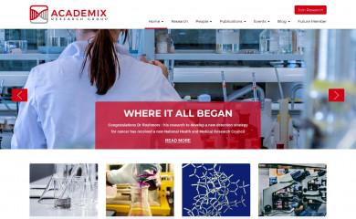 http://academix.wpcolorlab.com screenshot