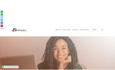 academicrelated.com screenshot