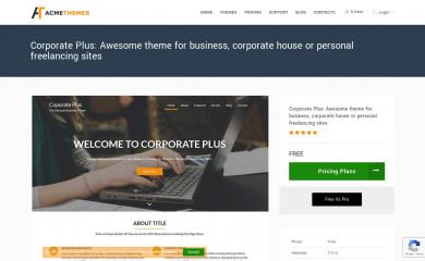 Corporate Plus screenshot