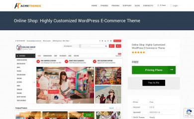 Online Shop screenshot