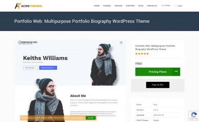 Portfolio Web screenshot