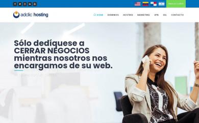 http://adclichosting.com screenshot