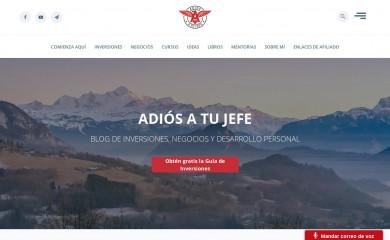 adiosatujefe.com screenshot