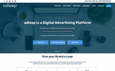 adleep.com screenshot