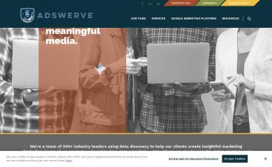 adswerve.com screenshot