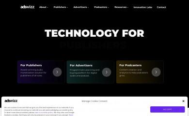 adswizz.com screenshot