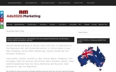 http://ads2020.marketing screenshot