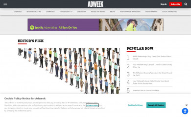http://adweek.com screenshot