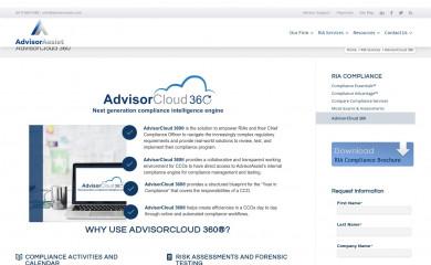 advisorcloud360.com screenshot