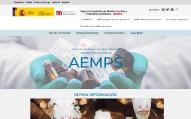 aemps.es screenshot