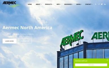 aermec.us screenshot