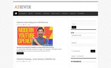aeriver.com screenshot