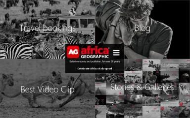 http://africageographic.com screenshot