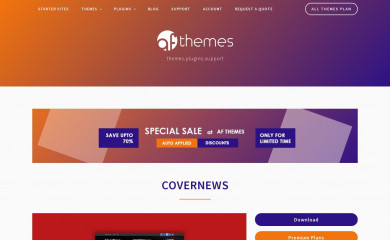 https://afthemes.com/products/covernews/ screenshot
