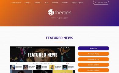 Featured News screenshot