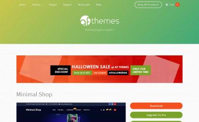Minimal Shop screenshot