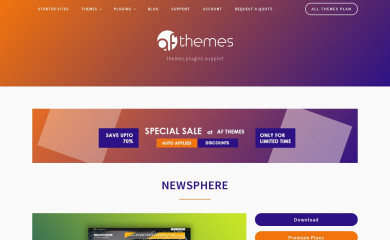 https://afthemes.com/products/newsphere/ screenshot