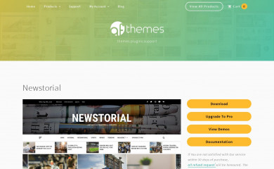 Newstorial screenshot