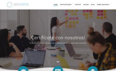 agilehunter.com screenshot