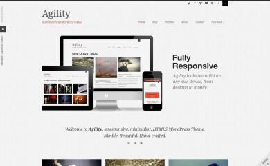 http://agility.sevenspark.com screenshot