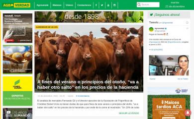 agroverdad.com.ar screenshot