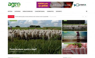 agronewsbrasil.com.br screenshot