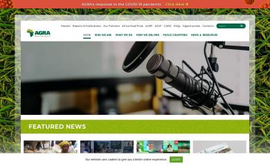 agra.org screenshot