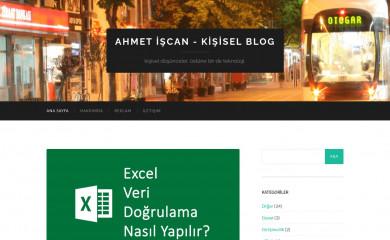 ahmetiscan.web.tr screenshot