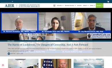 aier.org screenshot
