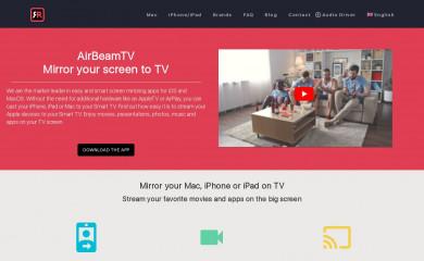 airbeam.tv screenshot
