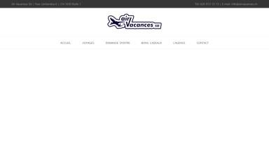 airvacances.ch screenshot