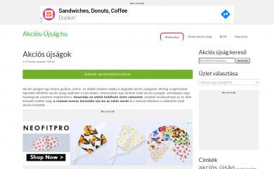 akcios-ujsag.hu screenshot
