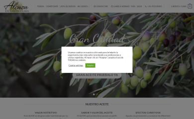 alcuzasantaclara.com screenshot