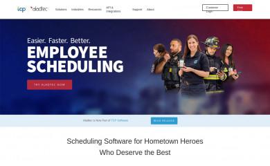 aladtec.com screenshot