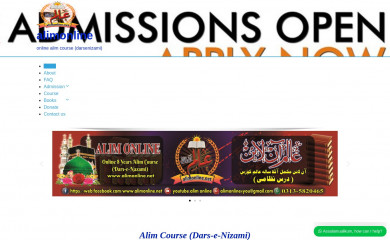 alimonline.net screenshot