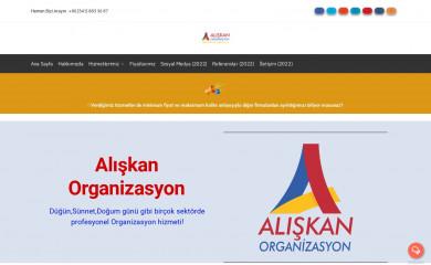 aliskanorganizasyon.com screenshot