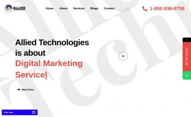 alliedtechnologies.io screenshot