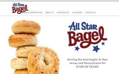 allstarbagels.com screenshot