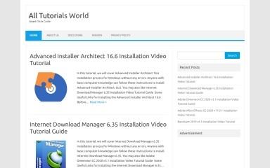 alltutorialsworld.com screenshot