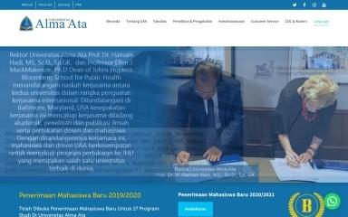 almaata.ac.id screenshot