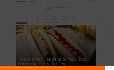 alternativedaily.com screenshot
