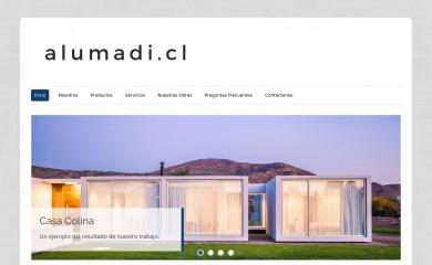 alumadi.cl screenshot