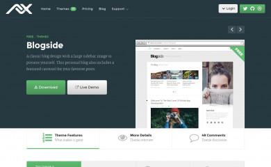 Blogside screenshot