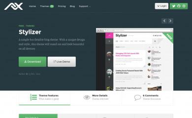 Stylizer screenshot