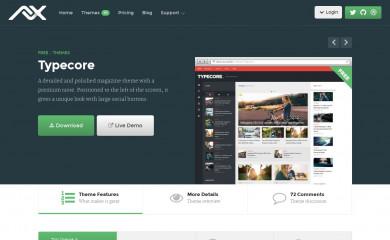 Typecore screenshot
