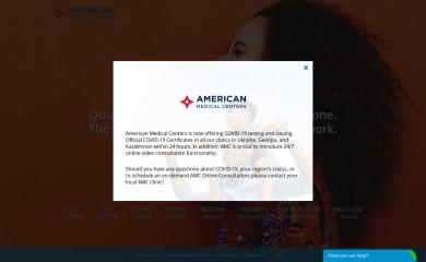 amcenters.com screenshot