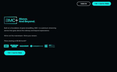 amcplus.com screenshot