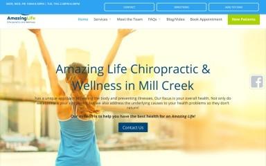 amazinglifechiropractic.com screenshot