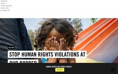 http://amnestyusa.org screenshot