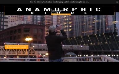 http://anamorphicstore.com screenshot